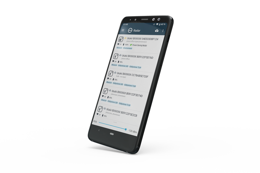 blukii Configurator App.